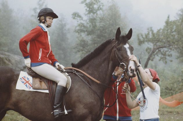 Princess Anne at the 1976 Olympic Summer Games.