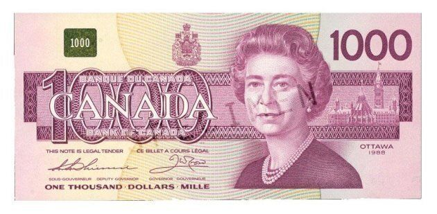 Canada Federal Budget Pulls The Plug On Banknotes Worth $1,000, $500 And