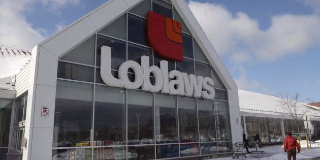A Loblaws store is seen Monday, March 9, 2015 in Montreal. Parent company George Weston Ltd.'s profit...