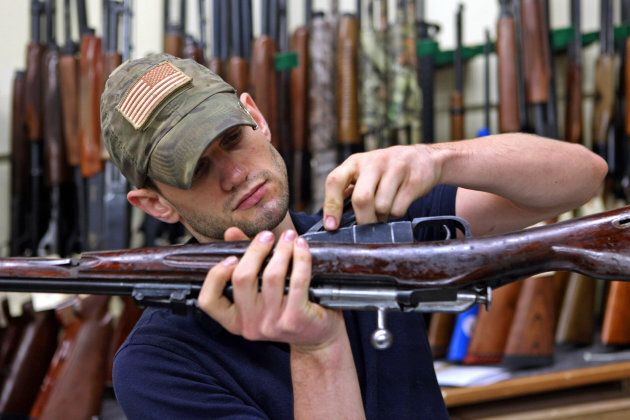 Here's a guy assembling a Mosin Nagant rifle similar to the one I was planning to