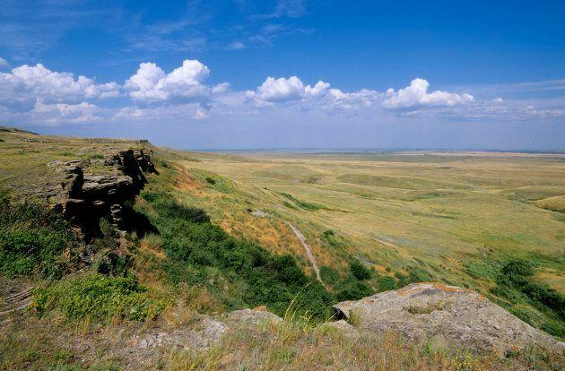 The prairies, near Fort MacLeod.