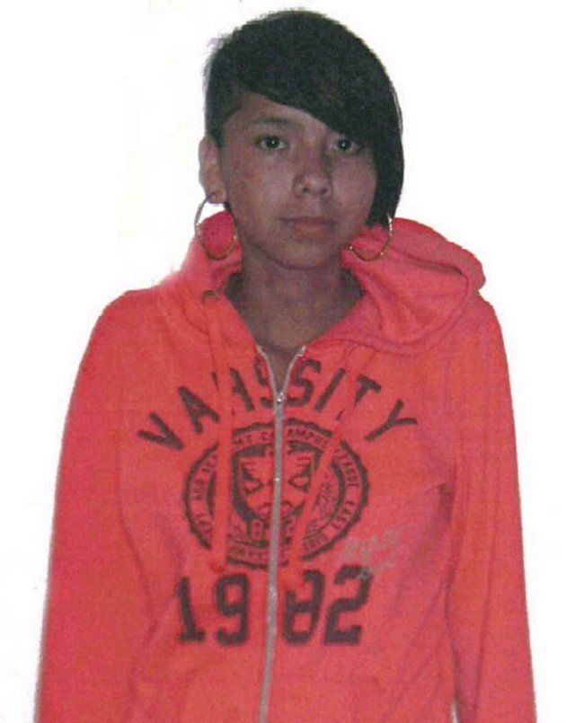 Tina Fontaine is seen in an undated handout