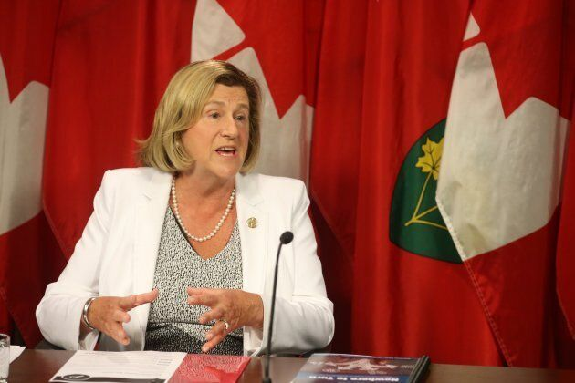 Helena Jaczek is Ontario's new health minister.