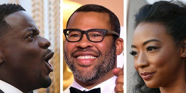 'Get Out' stars Daniel Kaluuya, Jordan Peele and Betty Gabriel shone bright at Sunday's Academy