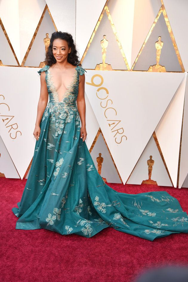 Betty Gabriel attends the 90th Annual Academy