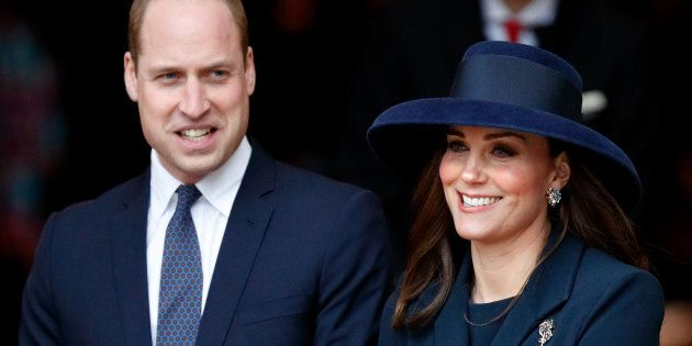 The Duke and Duchess of Cambridge attend the 2018 Commonwealth Day service at Westminster Abbey on March 12, 2018 in London, England.
