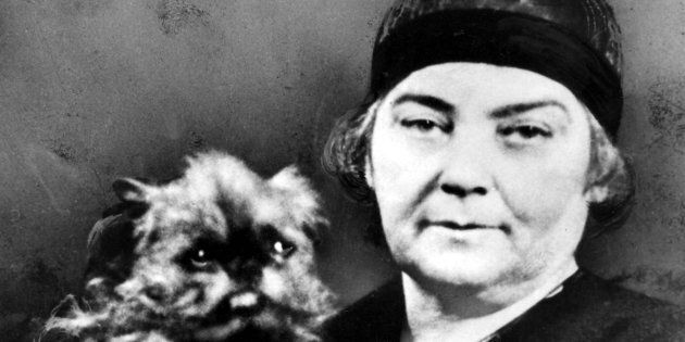 Canadian artist Emily Carr is shown in an undated photo. The number of poll participants who had never...