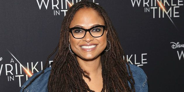 Ava DuVernay attends a screening of 'A Wrinkle in Time' on March 2, 2018 in Compton, California.