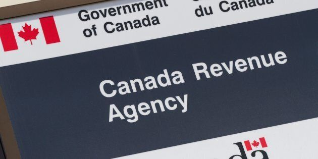 Canada Revenue Agency in Kingston, Ont., on May 12,