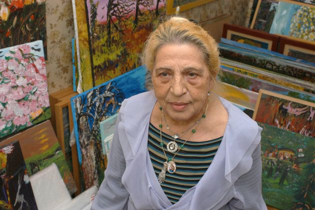 Austrian-Roma author and artist Ceija Stojka. Stojka, who brought to light the fate of the Roma and Sinti under the Nazis, died aged 79 in 2013.