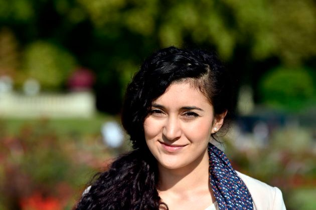Anina Ciuciu, a law student and author, is France's first Roma to run for senator.