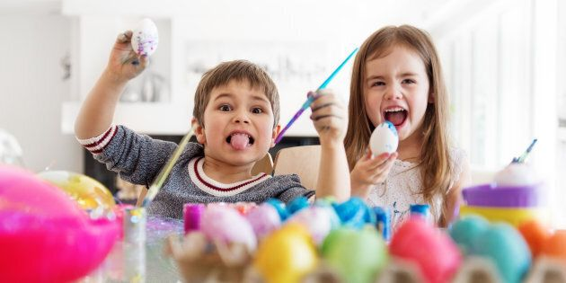 Egg Decorating Ideas To Keep Your Kids Occupied All Easter
