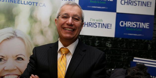 Ontario MPP Vic Fedeli in