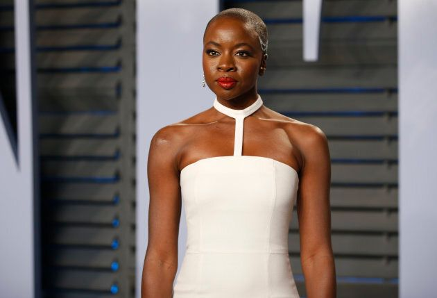 Danai Gurira at the 2018 Vanity Fair Oscar