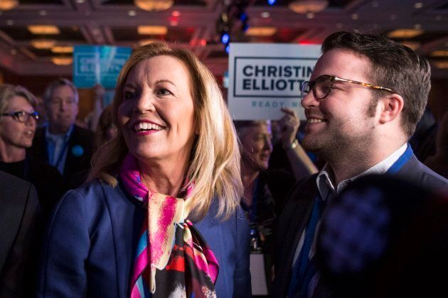 Candidate Christine Elliott attends the Ontario Progressive Conservative Leadership announcement in Markham,...