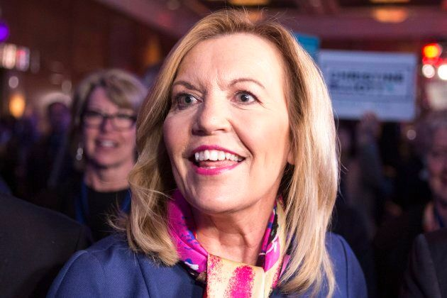 Christine Elliott attends the Ontario Progressive Conservative leadership announcement in Markham, Ont....