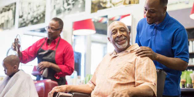 Black Barbershops Are Helping Clients With Their High Blood