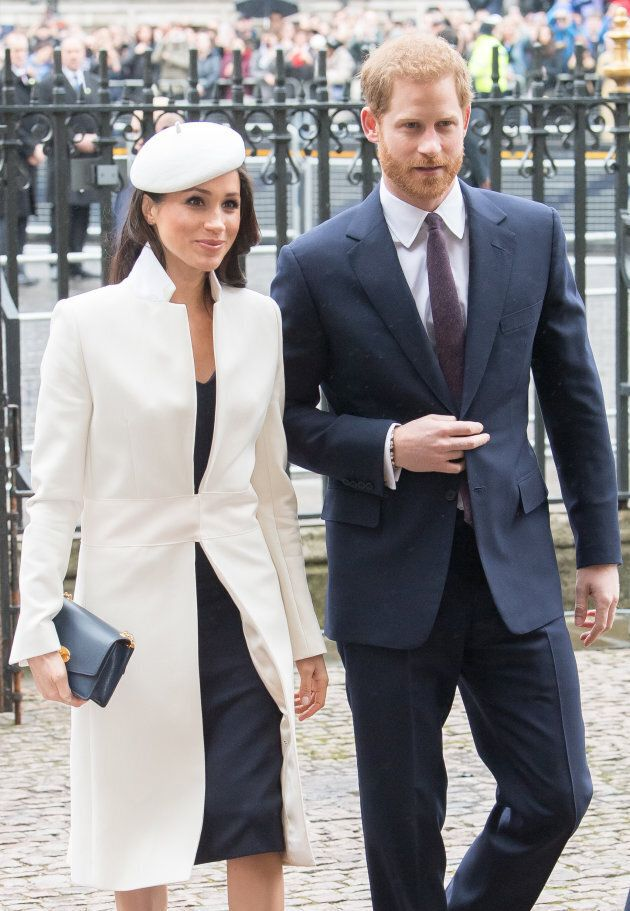 Meghan Markle and Prince Harry attend the 2018 Commonwealth Day service at Westminster