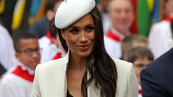 Meghan Markle's White Beret Is Likely A Tribute To Princess