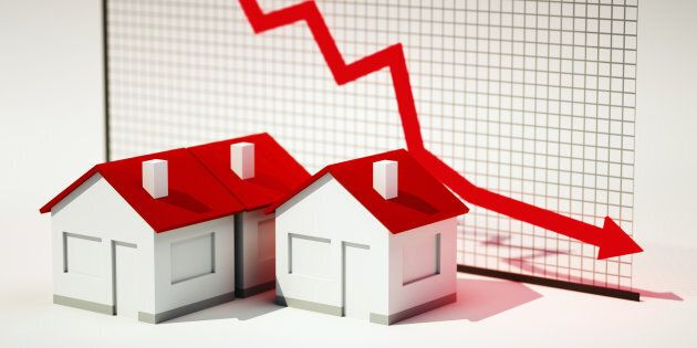 Canada House Price Index Shows Declines In Majority Of Cities As 'Correction' Sets
