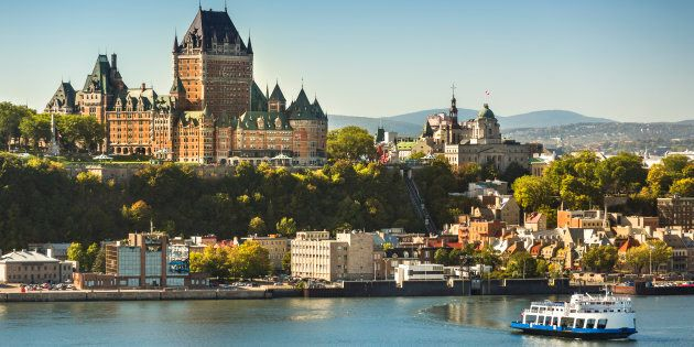Old Quebec City view Canada