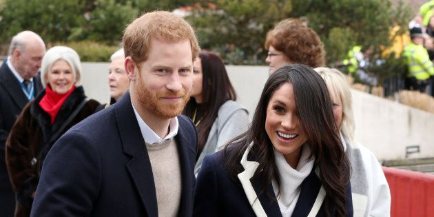Prince Harry and Meghan Markle visiting Millenium Point on March 8, 2018 in Birmingham,