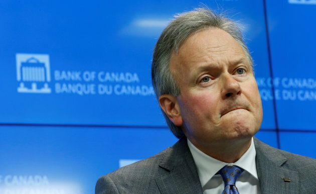 Bank of Canada Governor Stephen Poloz takes part in a news conference upon the release of the Financial...
