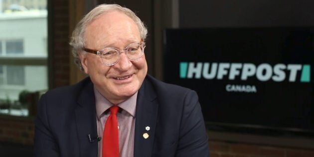 P.E.I. Premier Wade MacLauchlan speaks in the Toronto studios of HuffPost Canada on March 1,