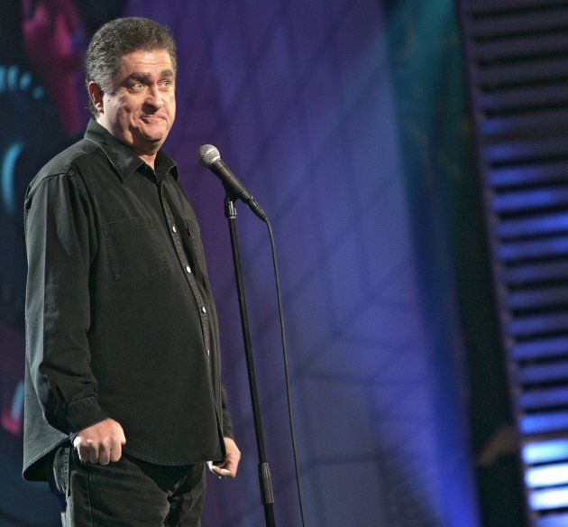 Comedian Mike MacDonald performs at the Theatre St. Denis during the Just For Laughs Festival on July...