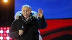 Putin Re-Elected In Crushing