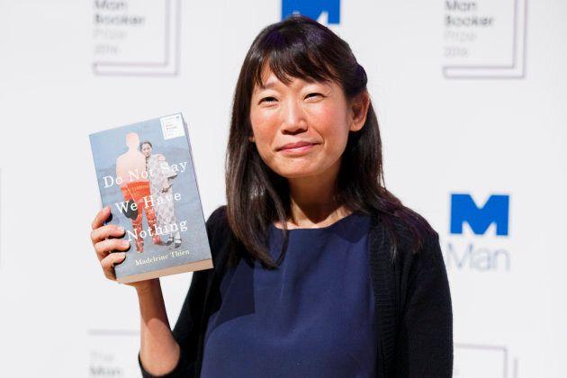 Canadian author Madeleine Thien in 2016.