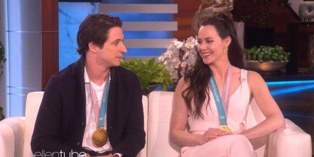 Scott Moir and Tessa Virtue discuss their love life