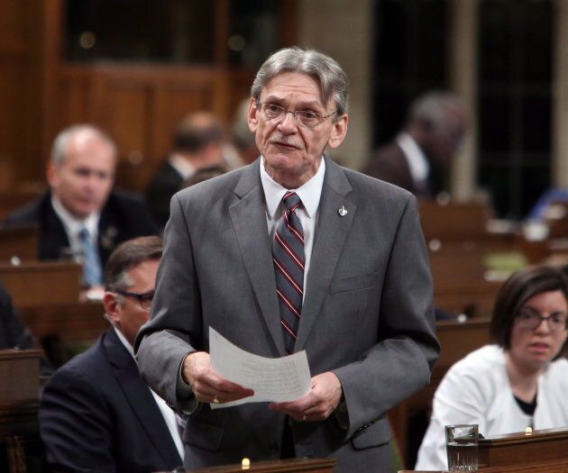 NDP MP David Christopherson stands in the House of Commons on June 5,