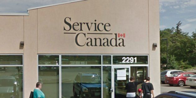 A Service Canada location in Toronto. Families Minister Jean-Yves Duclos is defending a directive from...