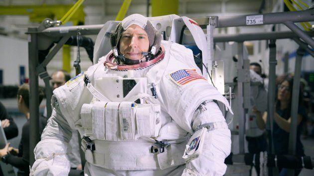 Queen's alumnus and NASA astronaut Drew Feustel is shown in this undated handout