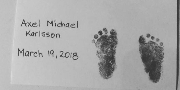 Erik Karlsson and his wife, Melinda, lost their baby boy this week.