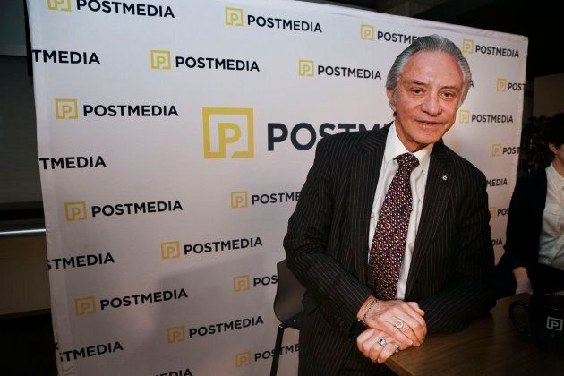 Paul Godfrey at Postmedia's office on Bloor St. E., March 25, 2015. T