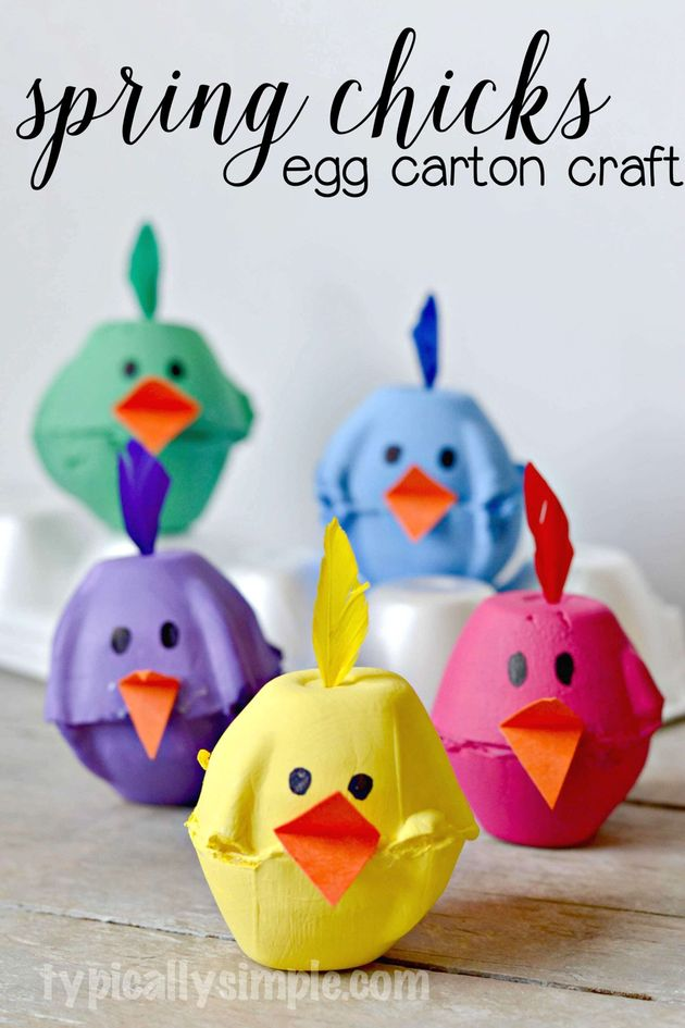 Kids' Easter Craft Ideas That Are As Bright And Cheery As