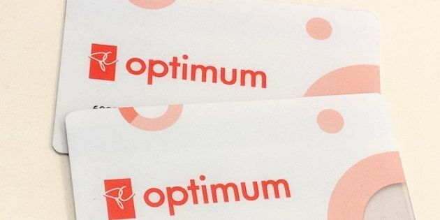 PC Optimum cards are seen in a