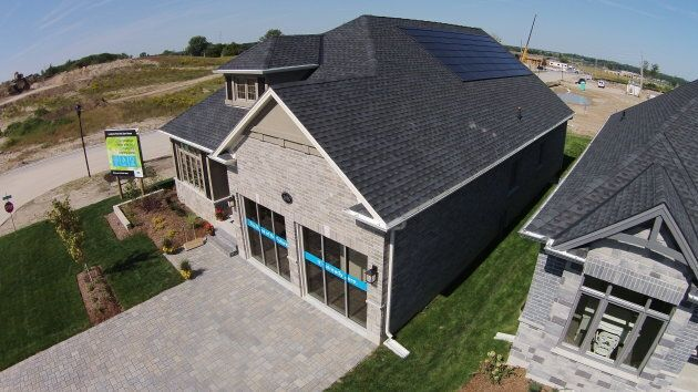 A net-zero home under construction in London, Ont.