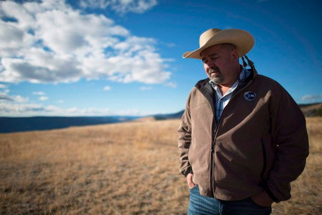 Chief Joe Alphonse, tribal chairman of the Tsilhqot'in Nation is pictured at Farwell Canyon, B.C., in...