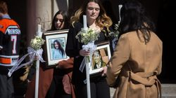 Hundreds Mourn Slain Ontario Mother And Teens At