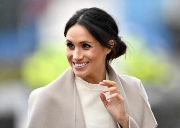 Meghan Markle during her trip with Prince Harry to Northern Ireland on March 23,