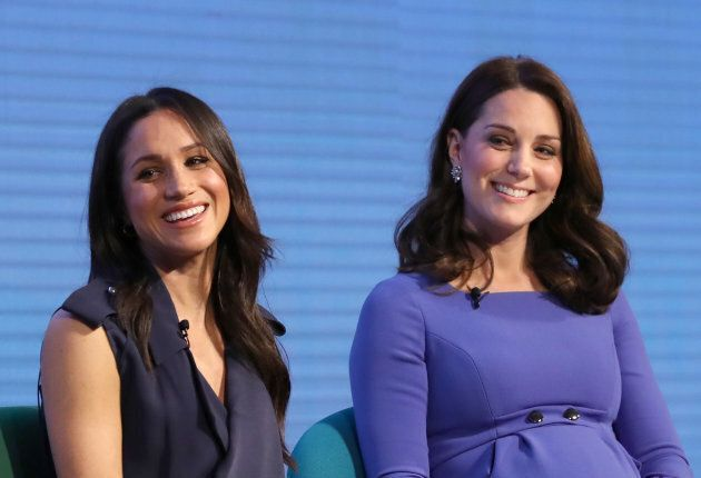 d71742caaa3 Meghan Markle and Kate Middleton attend the first annual Royal Foundation  Forum on Feb. 28
