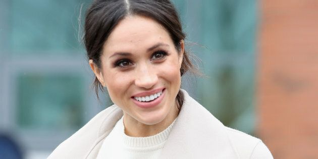 Meghan Markle visits Belfast, Nothern Ireland on March 23, 2018.