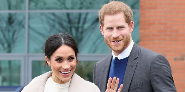 Prince Harry and Meghan Markle visit Belfast, Nothern Ireland on March 23,