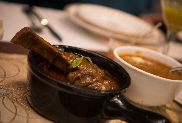 Lamb dish at Mayura