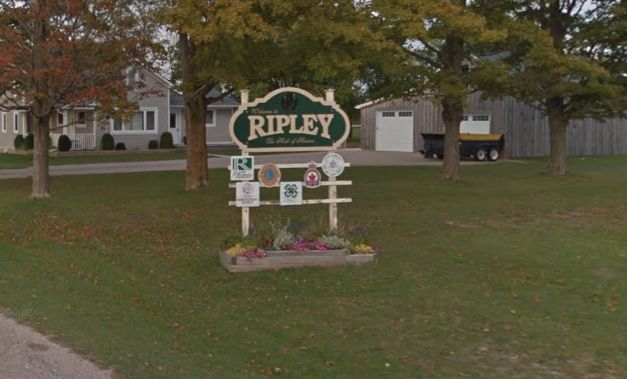 Ripley, Ont., the small community where both Mark McBride and Rita McBride (formerly Boyd)