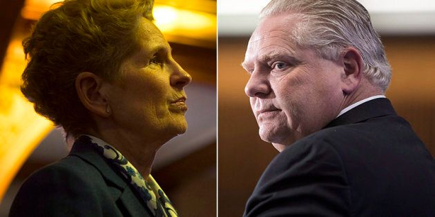 Ontario Premier Kathleen Wynne launched a direct attack against newly elected Progressive Conservative...