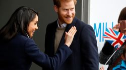 Just Harry, Meghan And 100,000 Visitors In Windsor For Royal